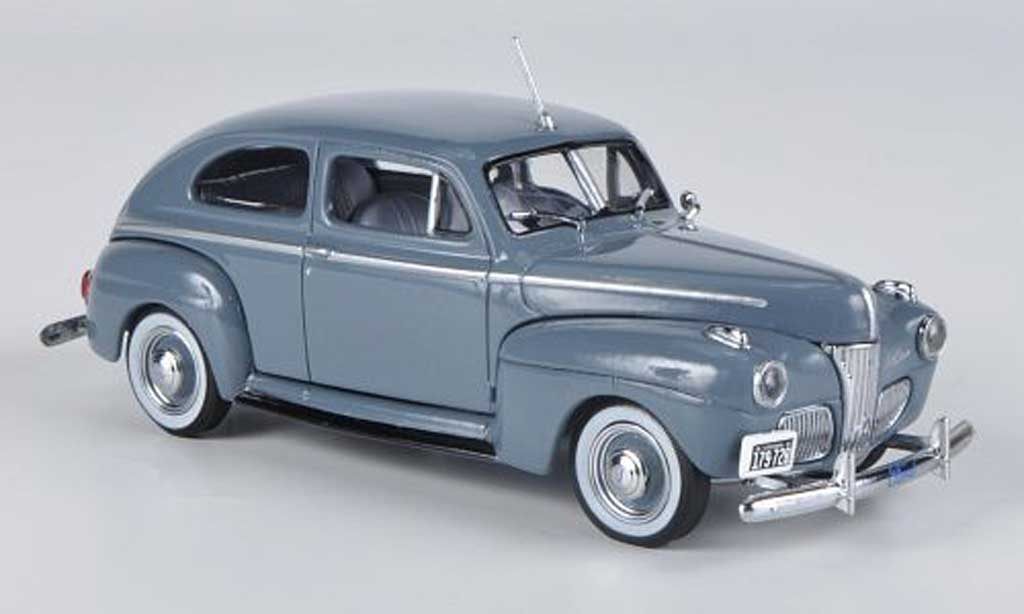 Ford Super Deluxe 1/43 American Heritage Models grise 1941 miniature