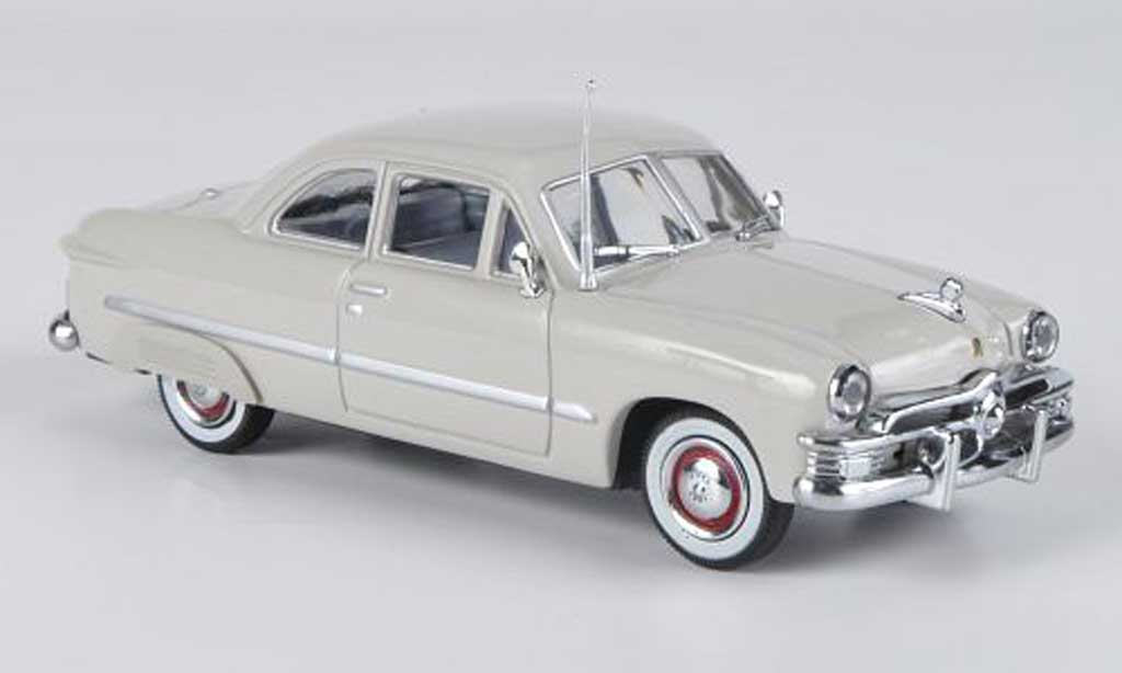 Ford Custom 1949 1/43 American Heritage Models 1949 2-portes Coupe grise miniature