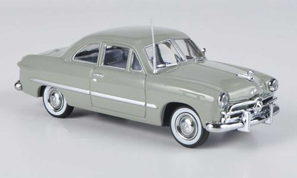 Ford Custom 1949 1/43 American Heritage Models 2-portes Coupe griseverte miniature