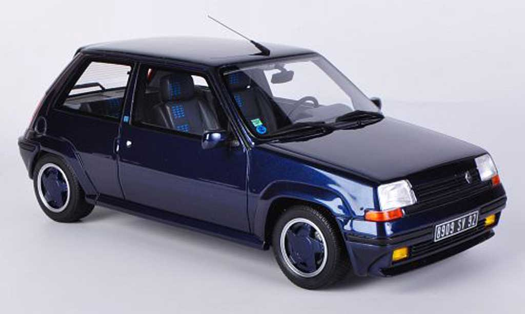 Renault 5 GT Turbo 1/18 Ottomobile Alain Oreille bleu miniature