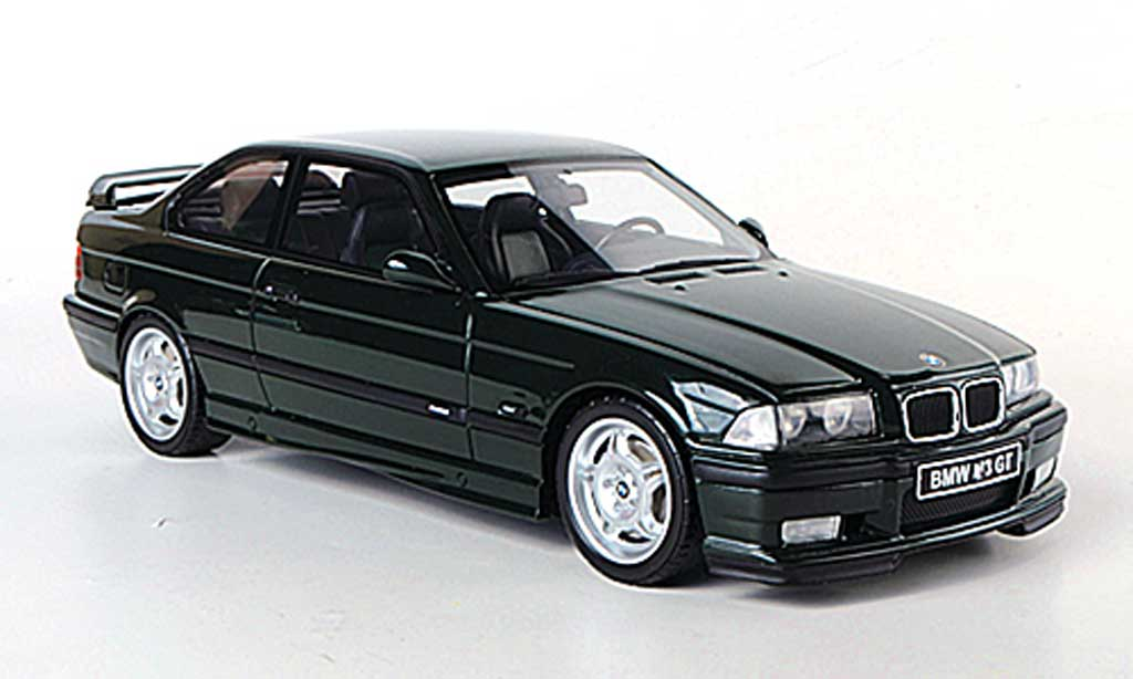 Bmw M3 E36 1/18 Ottomobile GT verte miniature