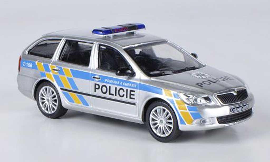 skoda octavia combi polizei tschechien abrex modellauto 1 43 kaufen verkauf modellauto. Black Bedroom Furniture Sets. Home Design Ideas