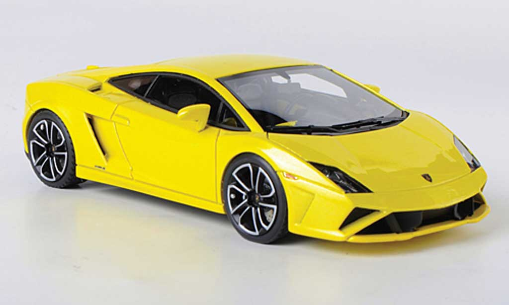 Lamborghini Gallardo LP560-4 LP560-4 1/43 Look Smart jaune Autosalon Paris 2012 miniature
