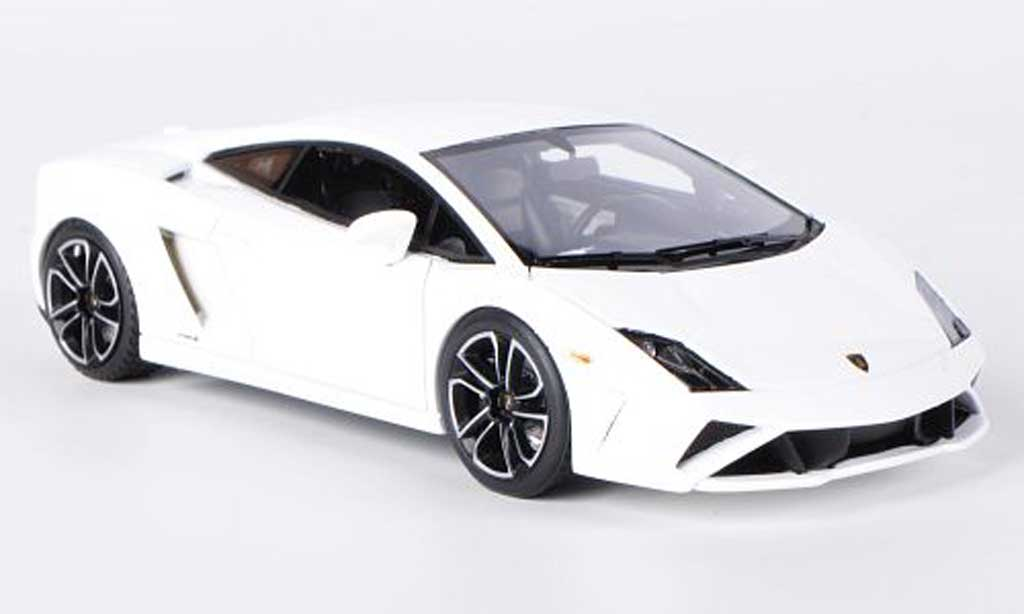 Lamborghini Gallardo LP560-4 LP560-4 1/43 Look Smart blanche miniature
