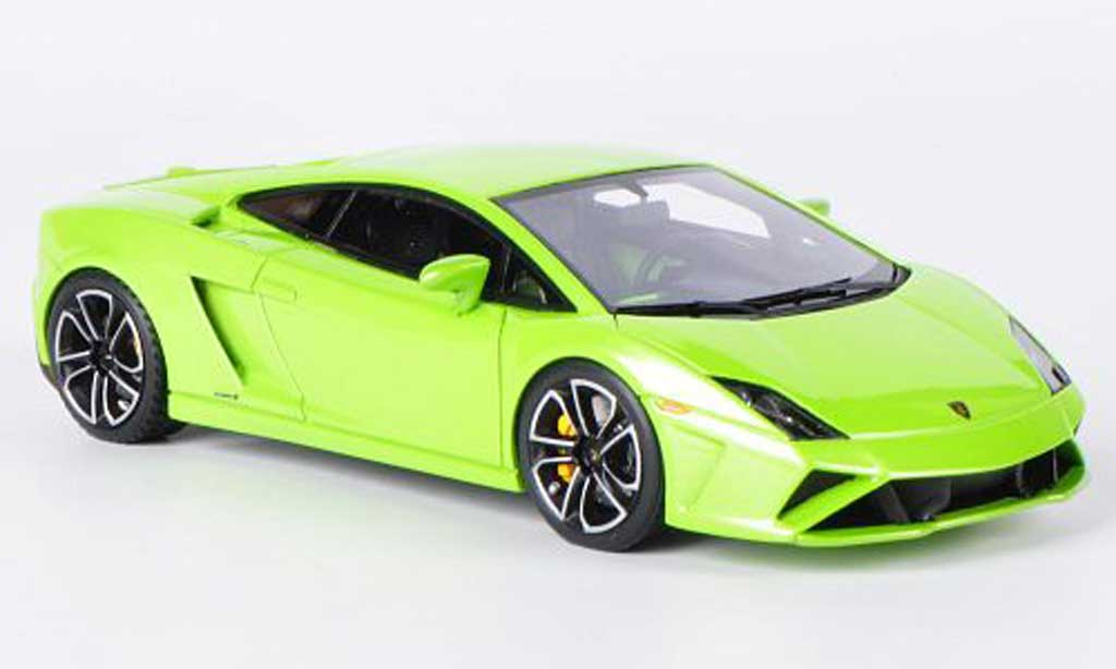 Lamborghini Gallardo LP560-4 1/43 Look Smart verte Autosalon Paris 2012 miniature
