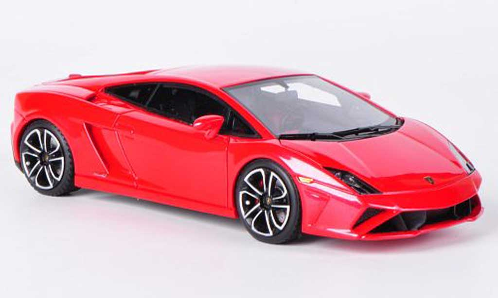 Lamborghini Gallardo LP560-4 1/43 Look Smart rouge Autosalon Paris 2012 miniature