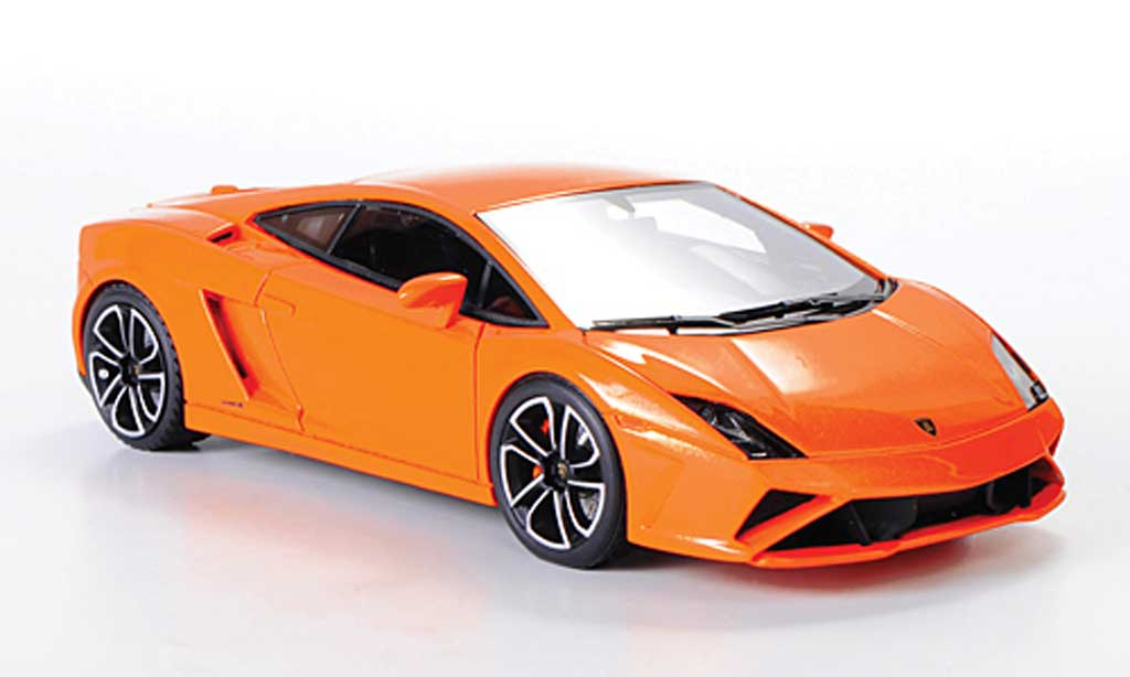 Lamborghini Gallardo LP560-4 1/43 Look Smart orange Autosalon Paris 2012 miniature