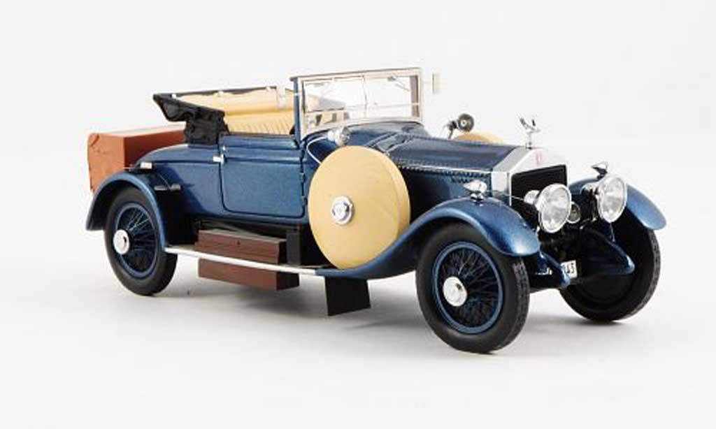 Rolls Royce Silver Ghost 1/43 Neo Doctor's Coupe Dansk (49RE) bleu RHD offenes Verdeck 1920 miniature