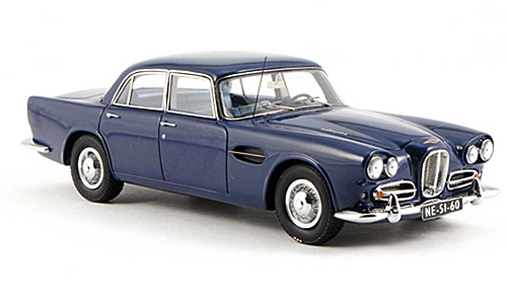 Lagonda Rapide 1/43 Neo bleu LHD 1962 miniature