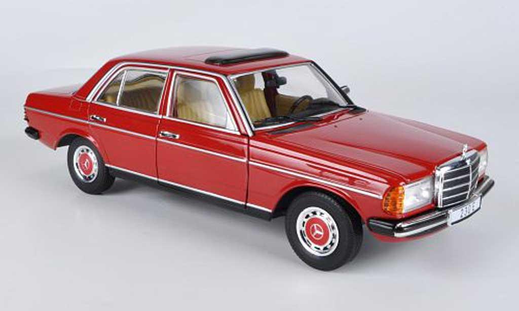 mercedes 230 e w123 red revell diecast model car 1 18. Black Bedroom Furniture Sets. Home Design Ideas