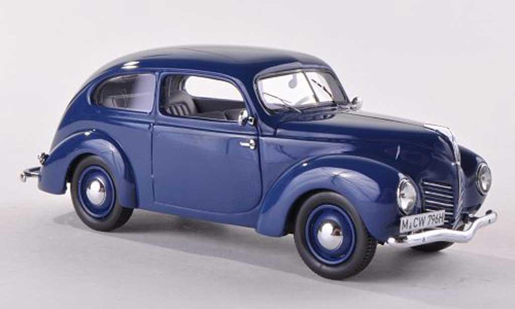 Ford Taunus 1938 1/43 Neo (G93A) noire-bleu limitee edition 300 pieces miniature