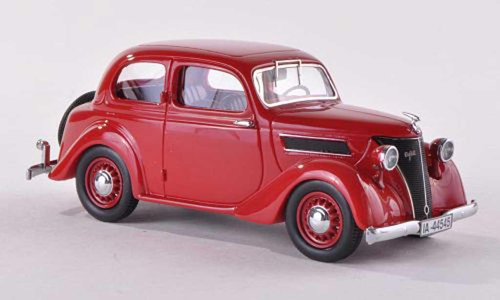 Ford Eifel 1/43 Neo noire-rouge  1938 miniature