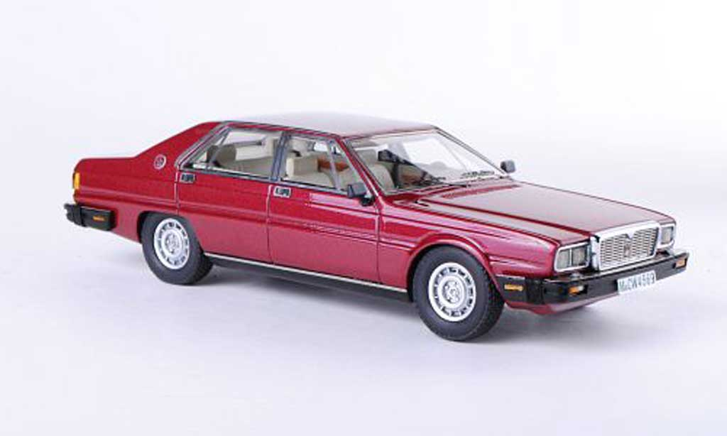 Maserati Quattroporte 1/43 Neo III red limitierte Auflage 300 Stuck 1978