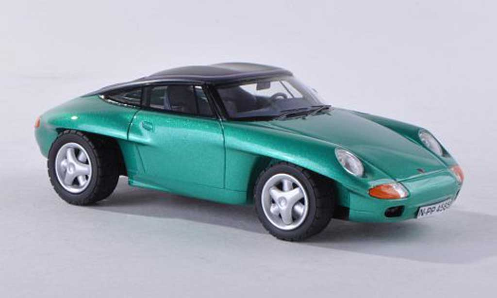 Porsche Panamericana 1/43 Neo vert ferme 1989 miniature