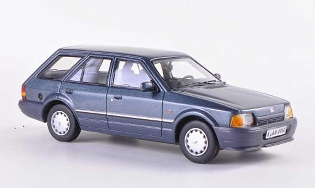 Ford Escort MK4 1/43 Neo MK IV Turnier grise  1986 miniature