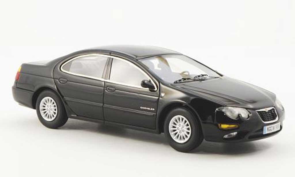 Chrysler 300M 1/43 American Excellence noire limitierte Auflage 500 2002 miniature