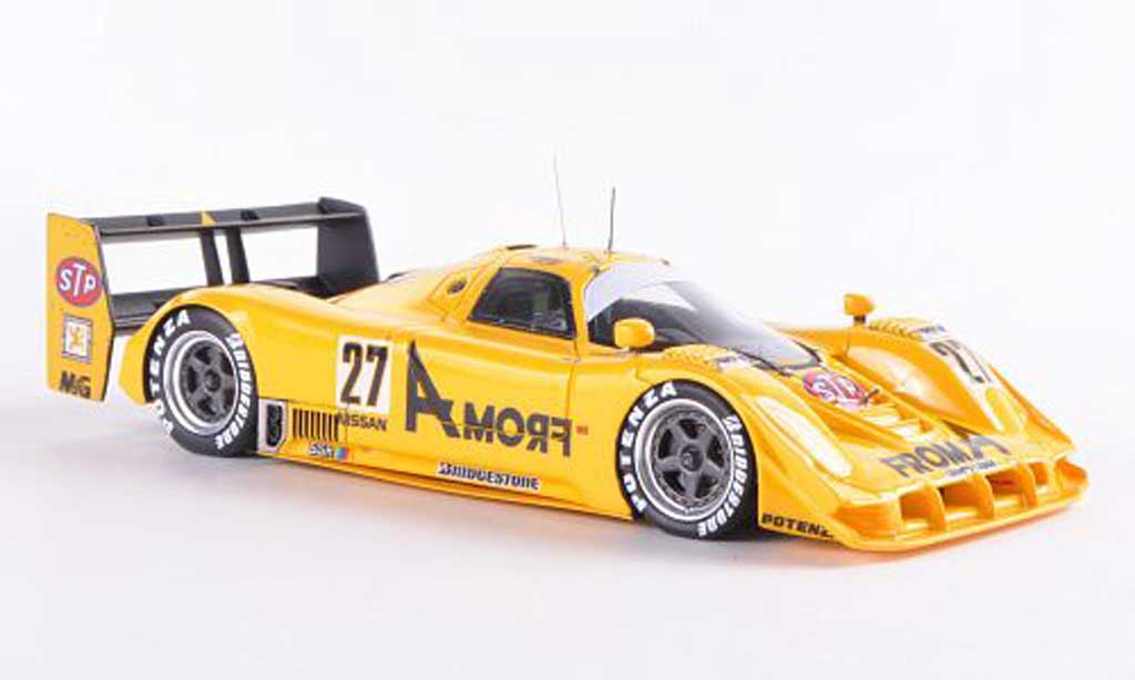 Nissan R91CK 1/43 HPI No.27 FromA Racing M.Martini / H.H.Frentzen / K.Kaneishi JSPC Mine 1992 miniature