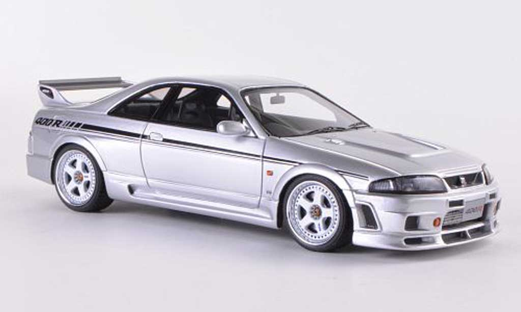 Nissan Skyline R33 1/43 HPI Nismo 400R grey RHD diecast model cars