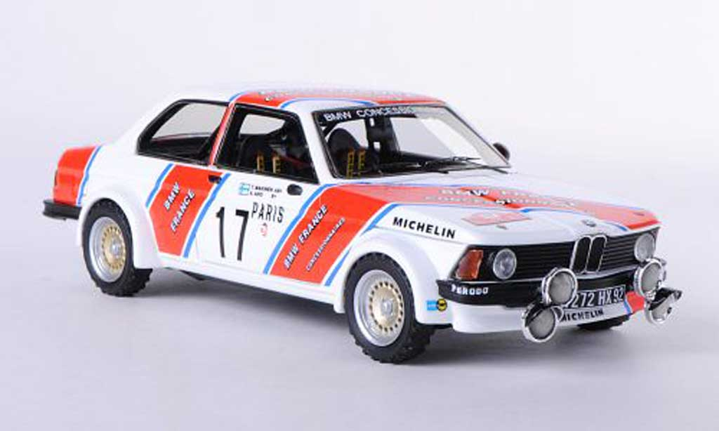 Bmw 320 E21 1/43 Neo i (E21) No.17 France T.Mekinen / A.Aho Rally Monte Carlo 1980 miniature