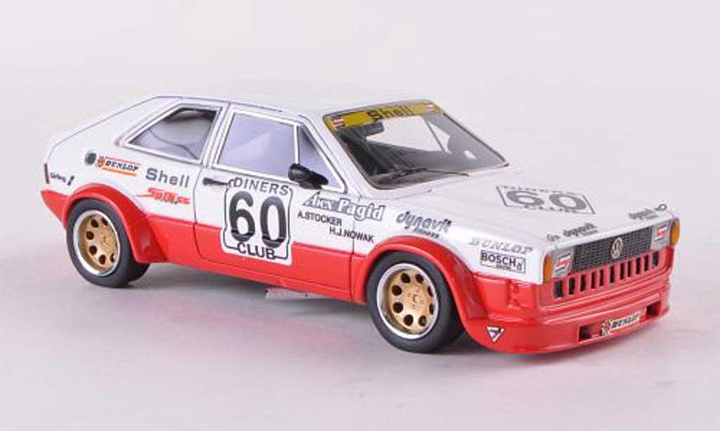Volkswagen Scirocco Gr.2 1/43 Neo I No.60 Motorsport ETCC Silverstone 1978 A.Stocker/H.J.Nowak miniature