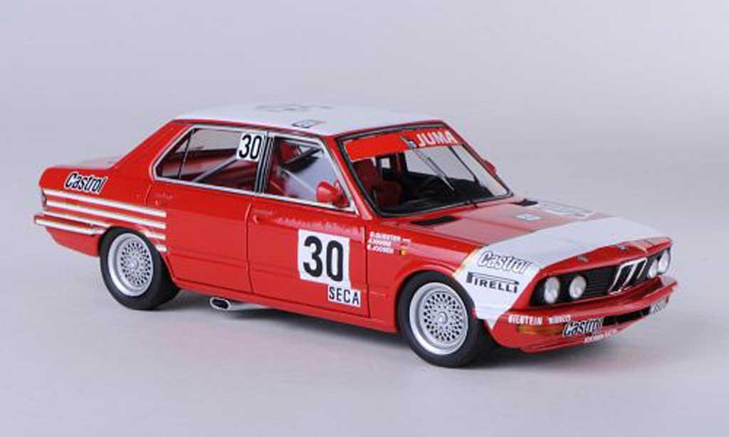 Bmw 528 1/43 Neo i Gr.A (E28) No.30 Bastos JUMA H.Heyer / E.Joosen / A.Hahne ETCC 24h Spa 1982 miniature