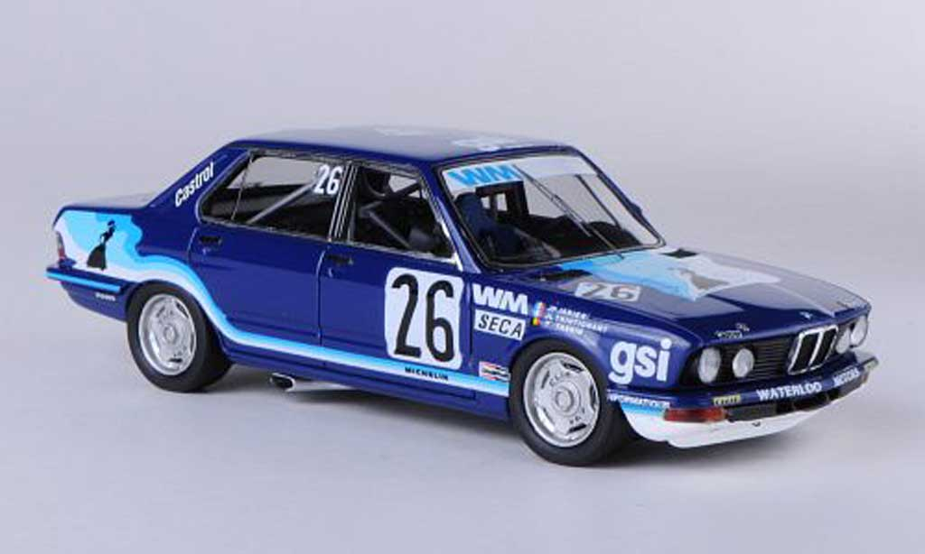 Bmw 528 1/43 Neo i Gr.A (E28) No.26 Gitanes WM Racing J.P.Jarier / J.L.Trintignant / T.Tassin ETCC 24h Spa 1982 miniature
