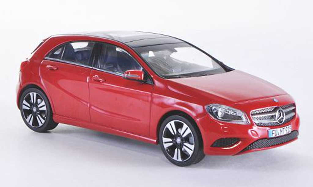 mercedes classe a miniature w176 rouge 2013 schuco 1 43 voiture. Black Bedroom Furniture Sets. Home Design Ideas