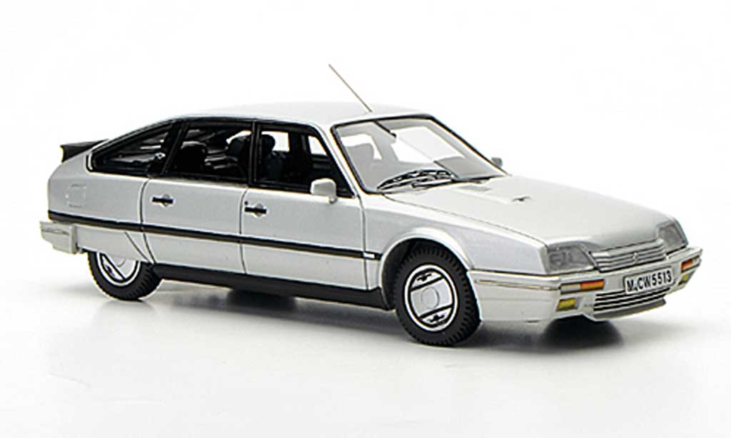citroen cx gti turbo 2 gray limitierte auflage 300 stuck 1986 neo limited 300 diecast model car. Black Bedroom Furniture Sets. Home Design Ideas