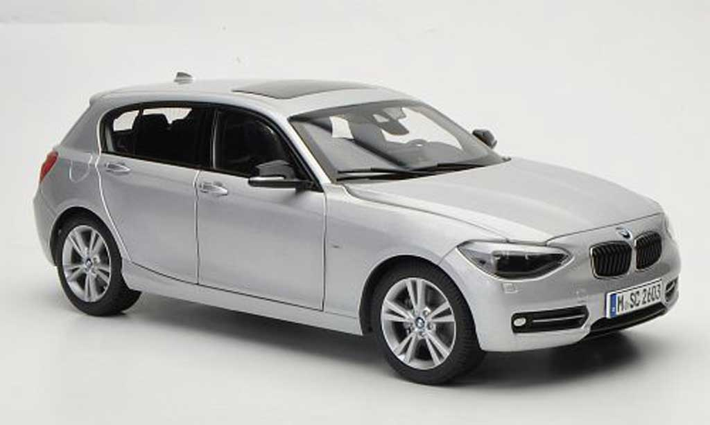 Bmw 114 F20 1/18 Paragon i grise Funfturer 2011 miniature