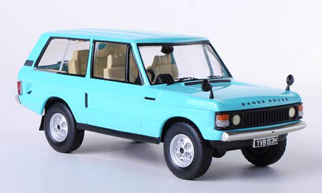 Land Rover Range Rover 1/43 IXO 3.5 bleu RHD 3-Turer 1970 miniature
