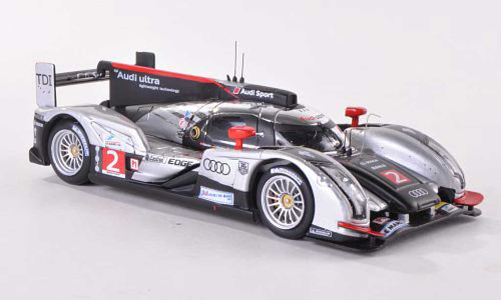 Audi R18 2011 1/43 IXO 2011 TDI No.2 24h Le Mans M.Fassler/A.Lotterer/B.Treluyer miniature