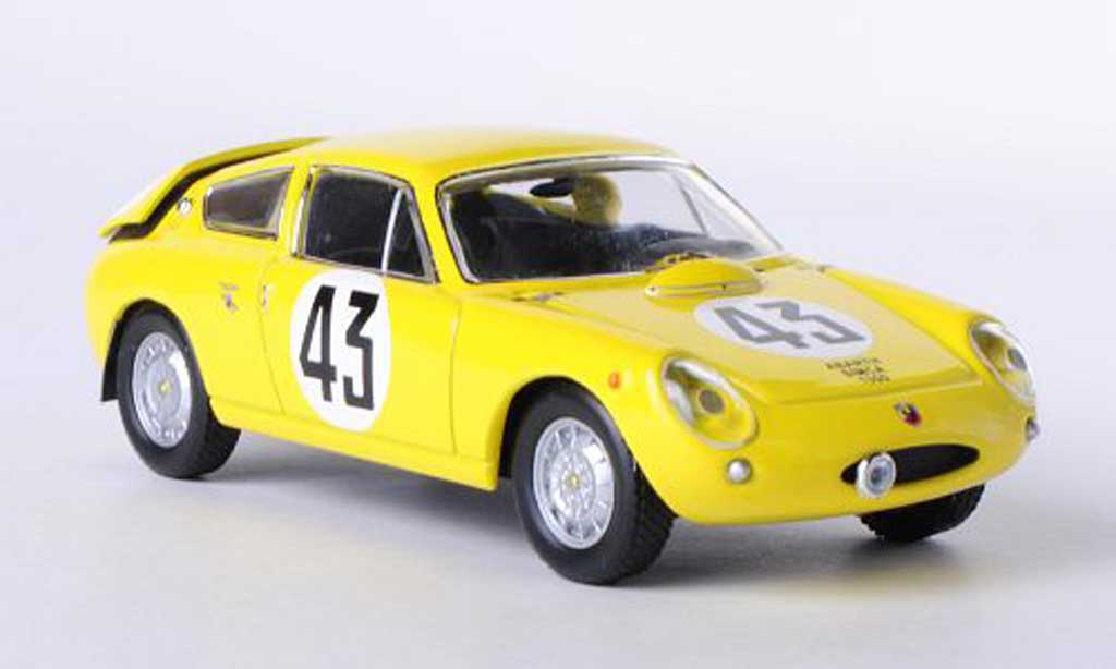Simca 1300 Abarth 1/43 IXO Abarth No.43 C.Dubois / G.Harris 24h Le Mans 1962 miniature