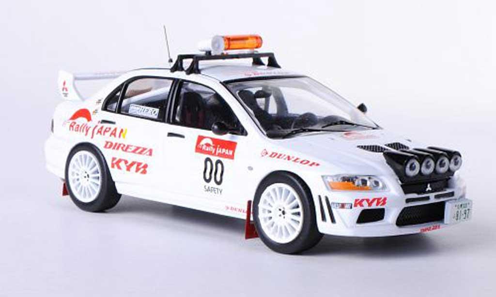 Mitsubishi Lancer Evolution VII 1/43 IXO No.00 Safety Car Rally Japan 2010 diecast model cars