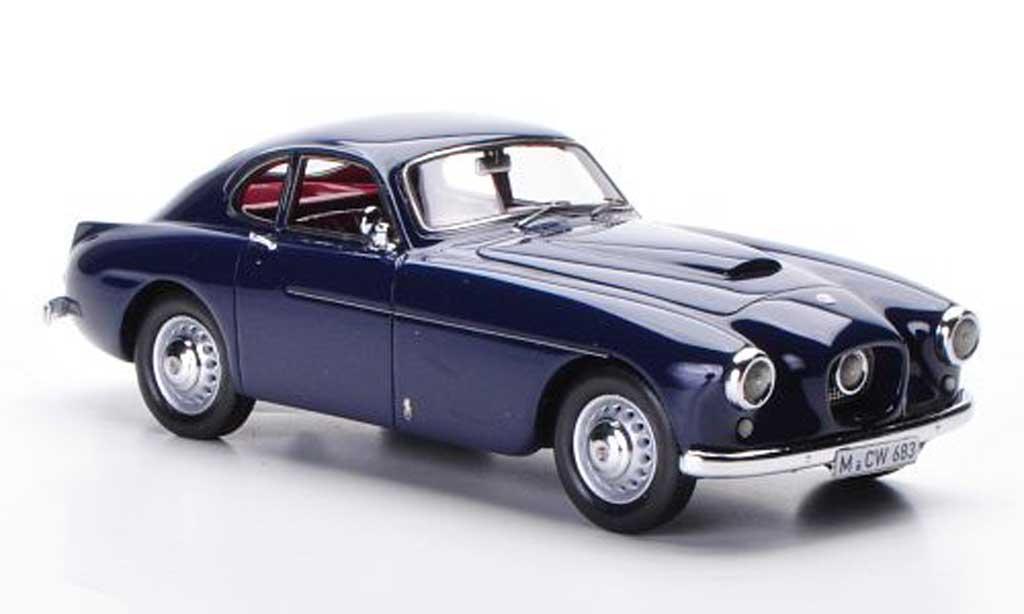 Bristol 404 1/43 Neo Coupe bleu RHD limitierte Auflage 300 Stuck 1953 miniature