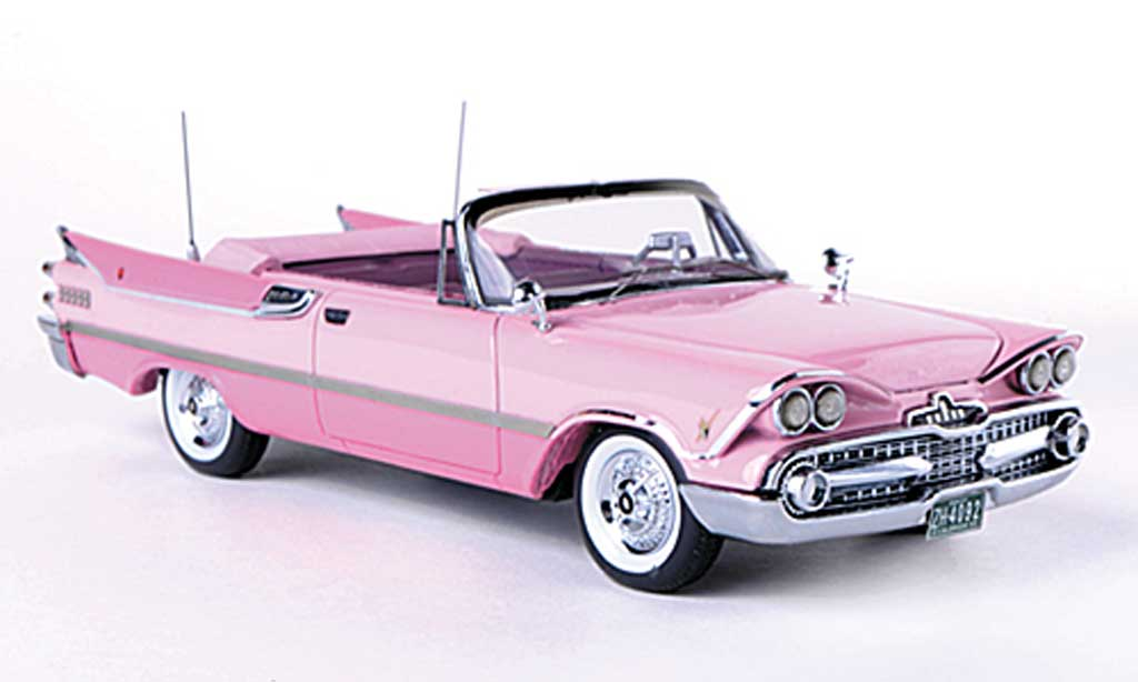 Dodge Custom Royal Lancer 1/43 American Excellence Convertible pink/rose limitierte Auflage 500 Stuck 1959 miniature