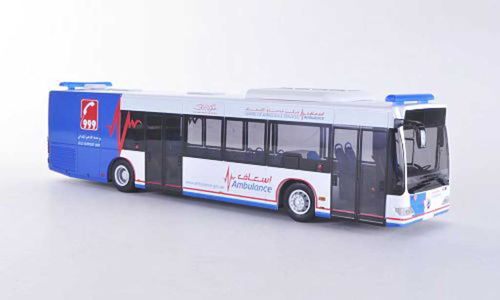 Mercedes Citaro 1/43 Rietze E4 Centre of Ambulance Services - Ambulance Dubai (UAE) miniature