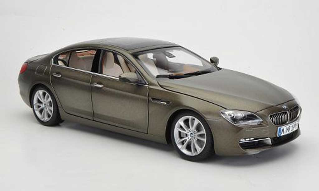 Bmw 640 F06 1/18 Paragon d Gran Coupe matt bronze 2012 miniature