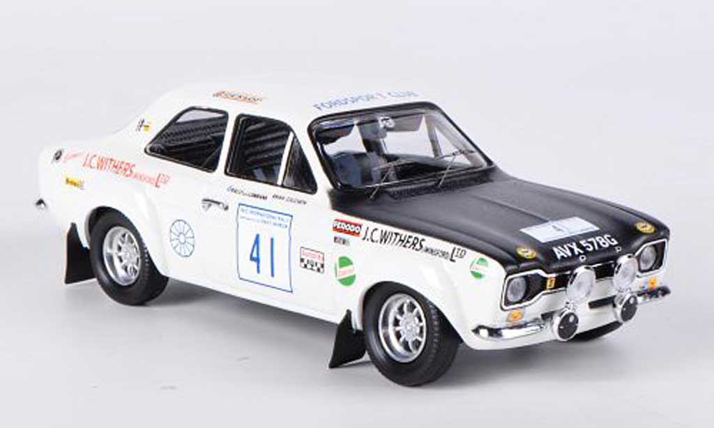 Ford Escort MK1 1/43 Trofeu 1600 TC No.41 Withers of WinsRally Grossbritannien 1971 Culcheth/Syer miniature