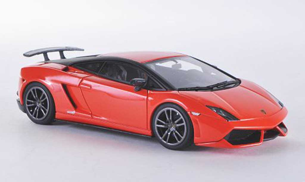 Lamborghini Gallardo LP570-4 1/43 Look Smart LP570-4 Superleggera Edizione Tecnica orange/mattnoire miniature