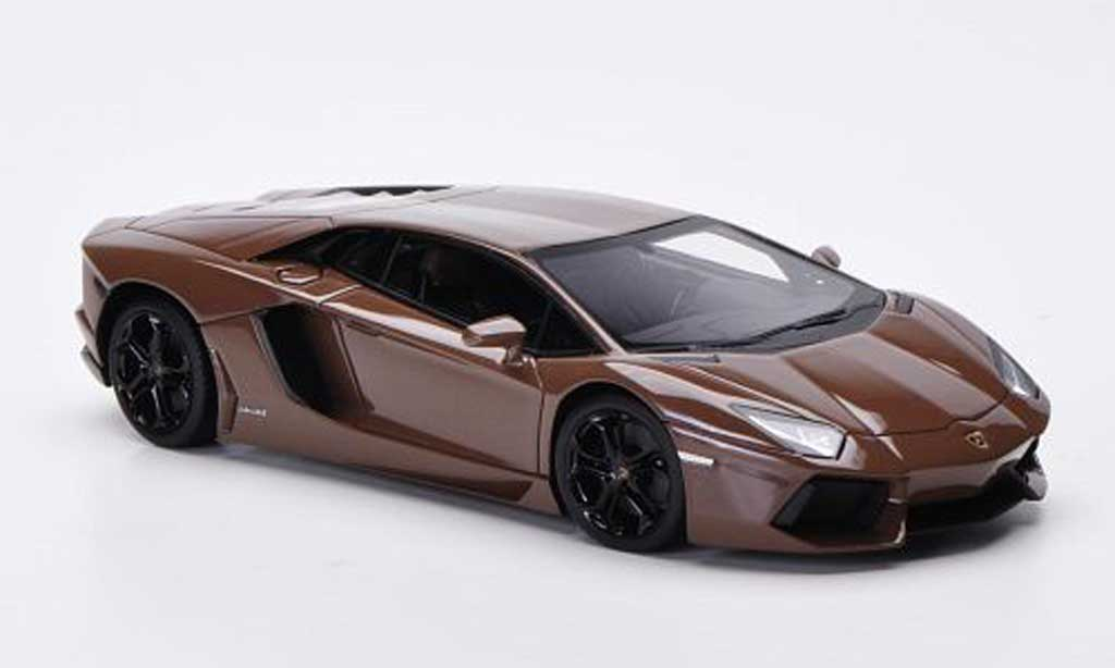 Lamborghini Aventador LP700-4 1/43 FrontiArt brown 2011 diecast model cars