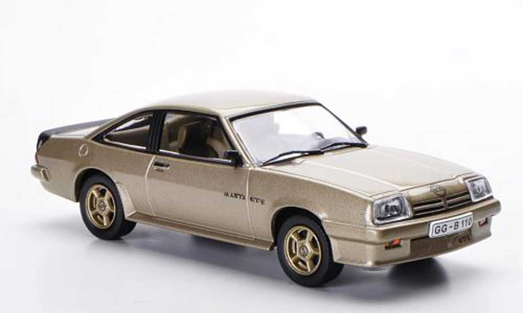 Opel Manta B 1/43 WhiteBox GT/E beige miniature