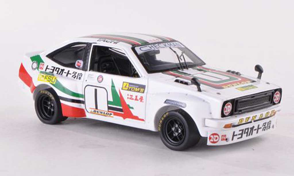 Toyota Starlet 1/43 Reve Collection No.1 N.Tachi 1977 miniature