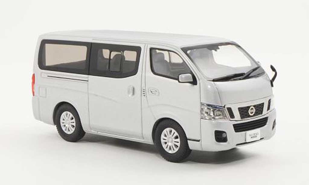 Nissan NV350 1/43 Ebbro Caravan grisegrise RHD miniature