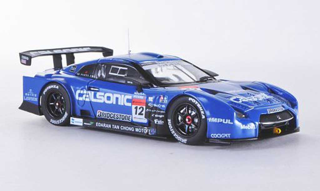 Nissan Skyline R35 1/43 Ebbro GT-R No.12 Calsonic Impul Low Down Force Super GT500 2012 miniature