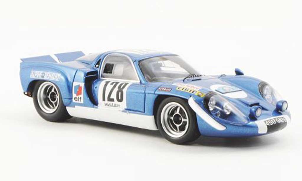 Alpine A220 1/43 Spark No.128 J.P.Jabouille/J.C.Guenard Criterium des Cevennes 1969 diecast model cars