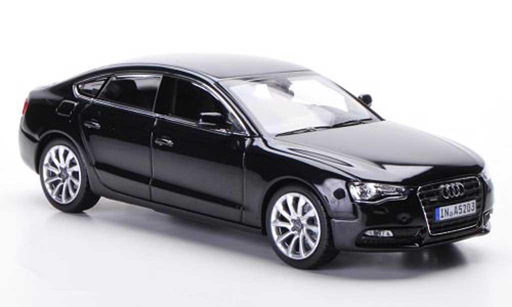 Audi A5 1/43 Schuco Sportback noire 2011 miniature
