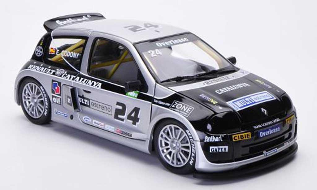 Renault Clio Cup 1/18 Eagle Sport Trophy No.24 E.Codony Renault Catalunya Clio Trophy miniature