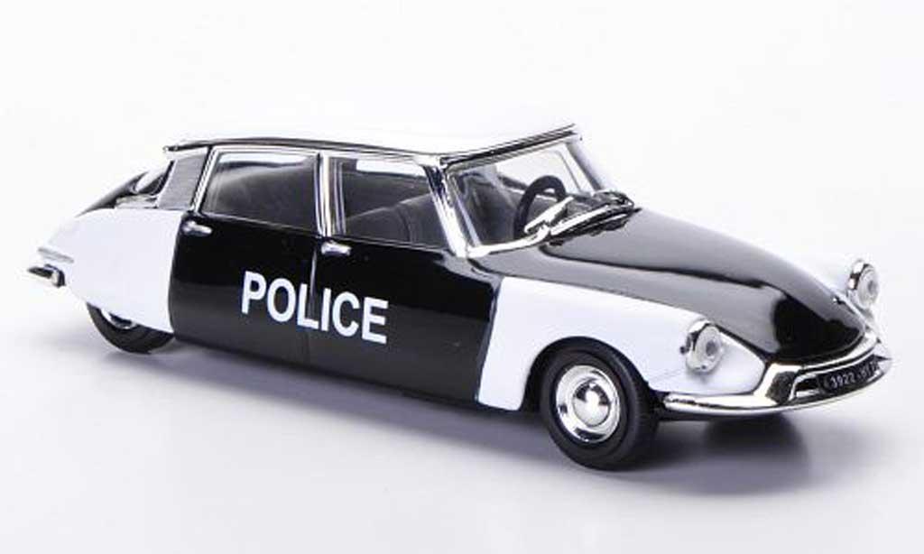 Citroen DS 19 1/43 Solido Police Polizei (F) 56 diecast model cars