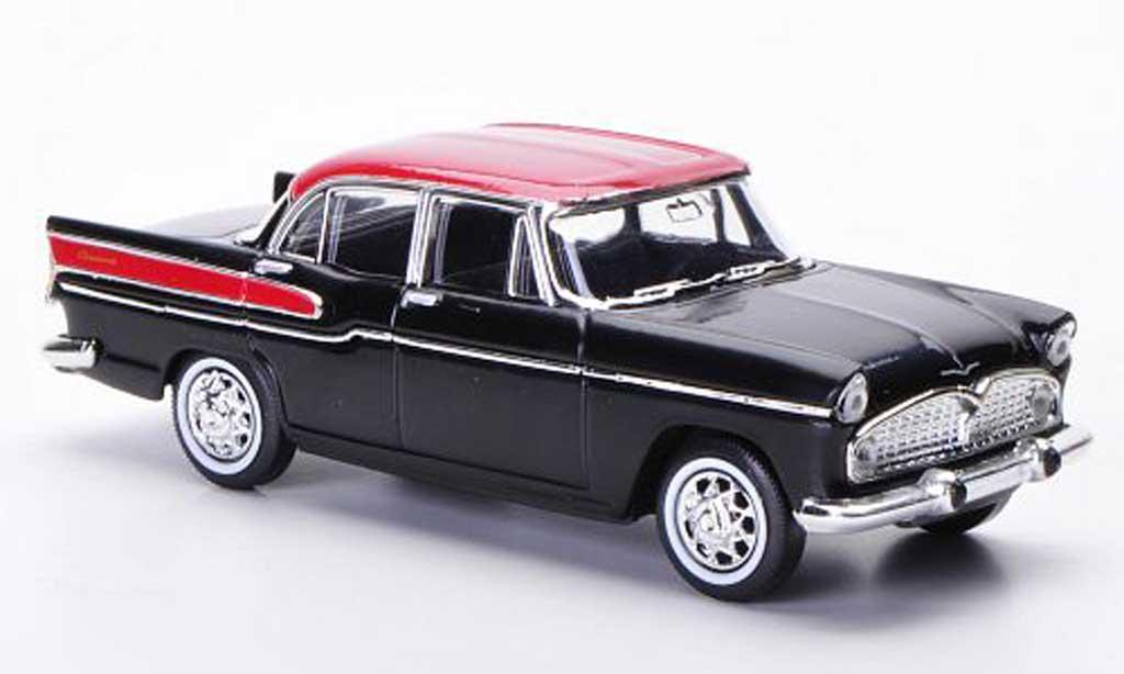 Simca Chambord 1/43 Solido black/red 1958 diecast model cars