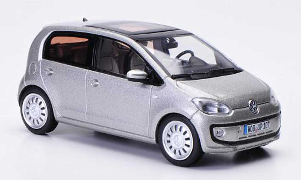 Volkswagen UP! 2011 1/43 Schuco 2011 grise Funfturer 2011 miniature